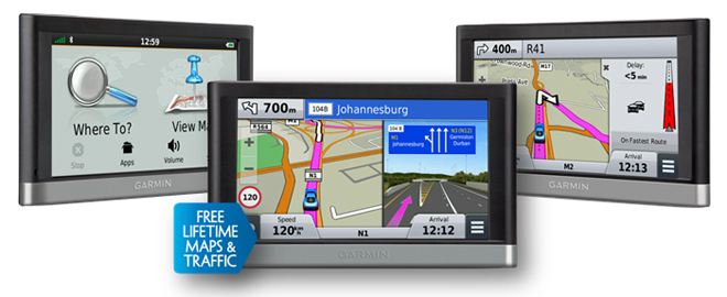 gps in car